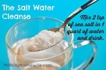 Salt Water Cleanse Recipe