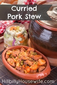 Curried Pork Stew From The Slowcooker