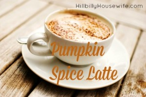 Cup of Homemade Pumpkin Spice Latte