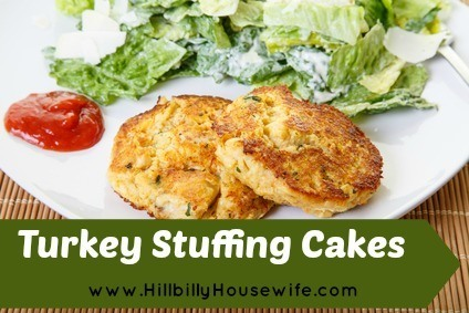 Stuffing Cakes with Turkey