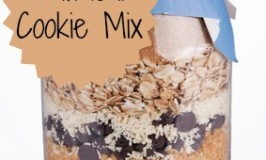 Jar of Oatmeal Cookie Mix