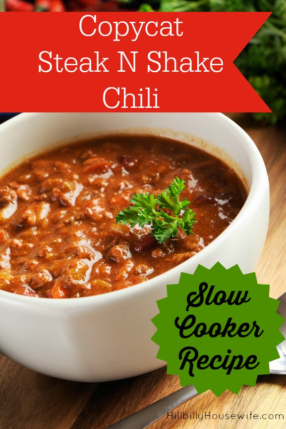 Copy Cat Chili Recipe