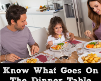 Do you know what goes on your dinner table?