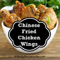How to make chinese fried wings