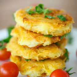 Stack of Potato Cakes