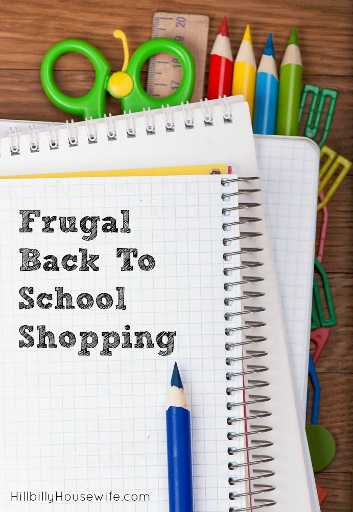 Frugal Back to School Shopping