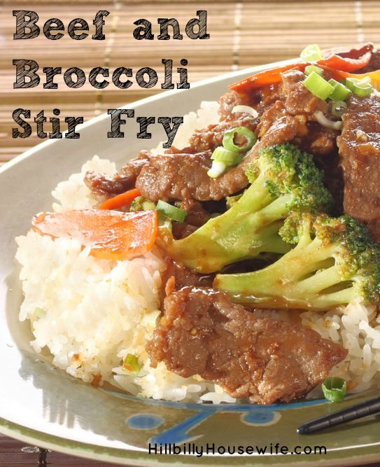 Quick and easy dinner - Beef and Broccoli Stir Fry - Real Food