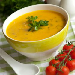 Sweet Potato and Tomato Soup that freezes well.