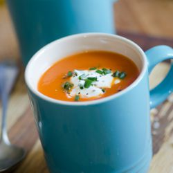 Instant soup mix for creamy tomato soup