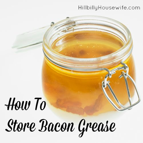 Tips for using and storing bacon grease or bacon drippings.