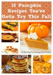 A collection of my favorite pumpkin recipes from pie and soup to pancakes and lattes.