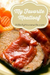 A basic meatloaf recipe made with ground beef, bread, onions and carrots.
