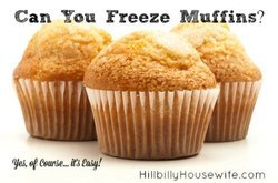 Here's how to freeze muffins to enjoy them later.