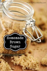 Here's a quick recipe for making homemade brown sugar. Just two ingredients and it comes together quickly. Great for baking.