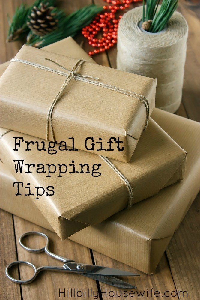 Frugal Ways To Wrap Your Presents - Hillbilly Housewife