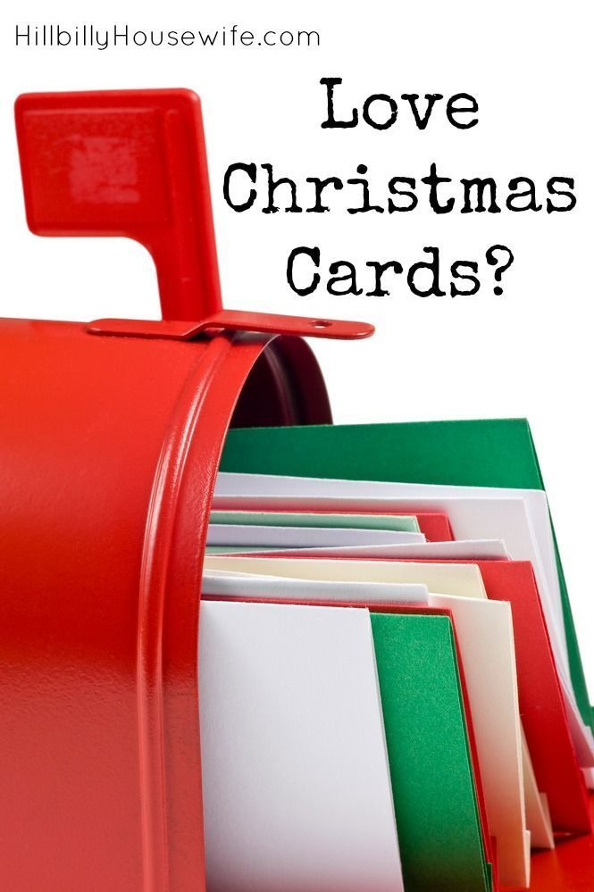 Love Getting Christmas cards? Here are some ideas for displaying them.