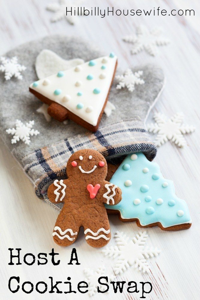 Need a fun idea for the Holidays? Why not host a cookie swap this year and exchange Christmas cookies (and recipes).