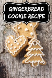 I bake a big batch of these gingerbread cookies each year. It just wouldn't be Christmas without them.