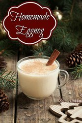Have you tried making eggnog from scratch? Here's an easy recipe and the end result is absolutely delicious. Perfect for the holidays.