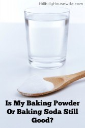 Not sure how fresh your baking soda or powder is? Test it before you start baking.