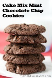 These simple cookies are as easy as they are delicious. Perfect for baking with the kids or when you want a simple to make treat.