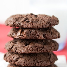 Cake Mix Mint Chocolate Chip Cookies