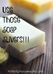 Don't toss that last little bit of the soap bar. Put it to use with these simple little tips.