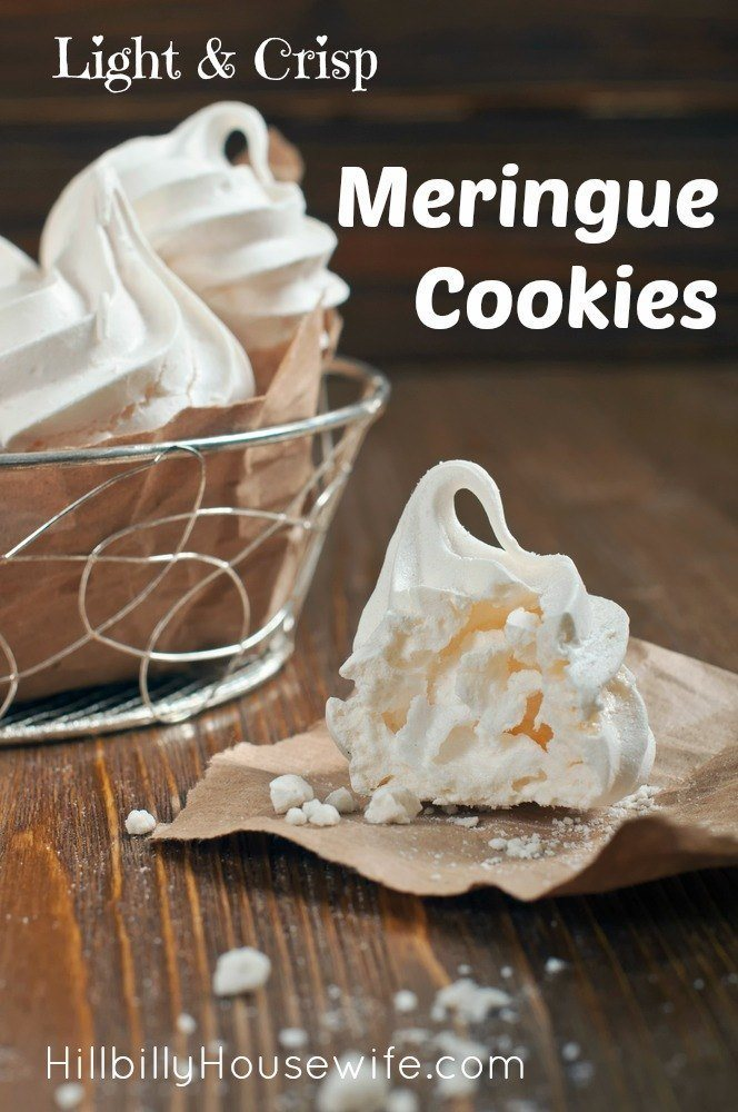 "All it takes is a few simple ingredients and a little patience to make these delicious, ""melt-in-your-mouth"" meringue cookies."