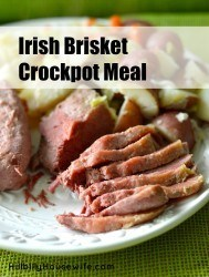 A simple way to fix a traditional corned beef and cabbage dish in your slowcooker. Perfect for St. Patrick's Day