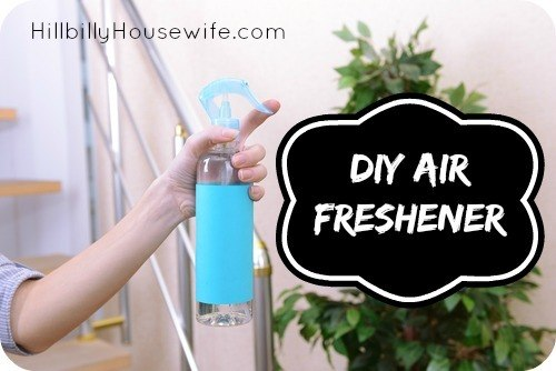 Make your own homemade air freshener and fabric refresher. Just 3 ingredient and the only other thing you need is a spray bottle.