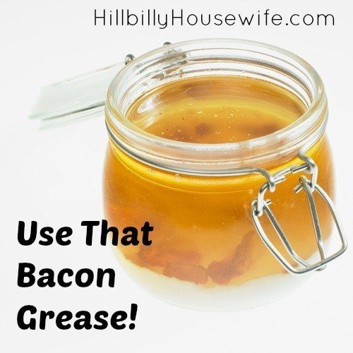 Tips on how to cook bacon grease and what else you can do with it (candles anyone?)
