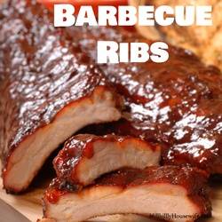 These old-fashioned barbecue ribs made with homemade sauce are hard to beat.