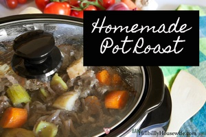 A basic but delicious pot roast recipe