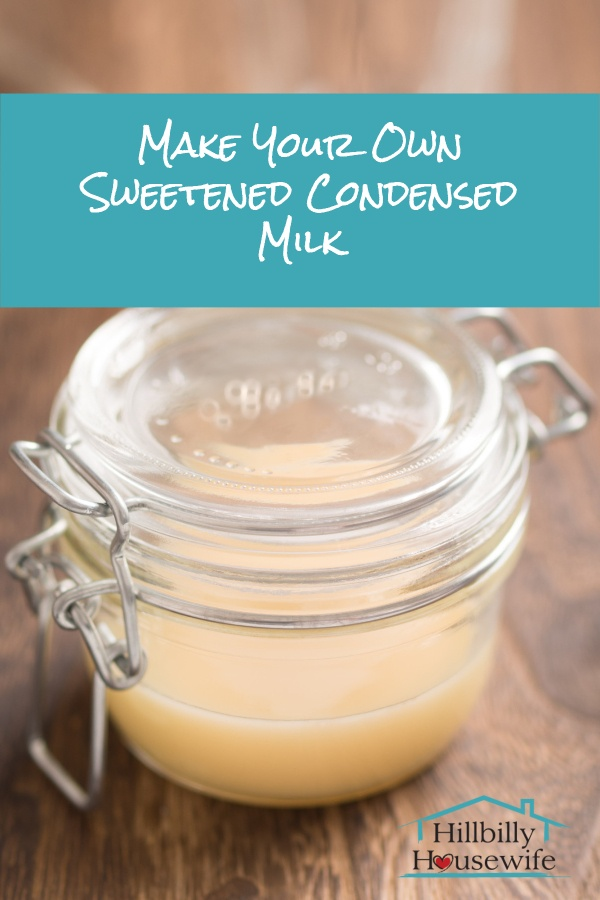 You won't believe how easy it is to make your own sweetened and condensed milk. use it in your favorite recipes, put it in your coffee, or top your pancakes and waffles with this .
