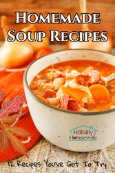 Twelve recipes for homemade soup you've got to try.