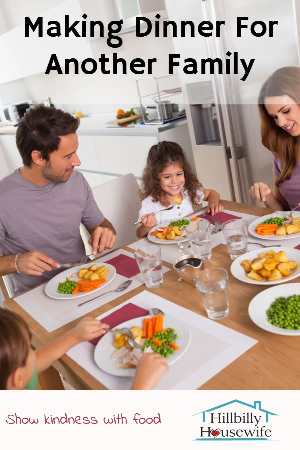 Tips and advice for making and taking a meal to a family in need. Share kindness with food.