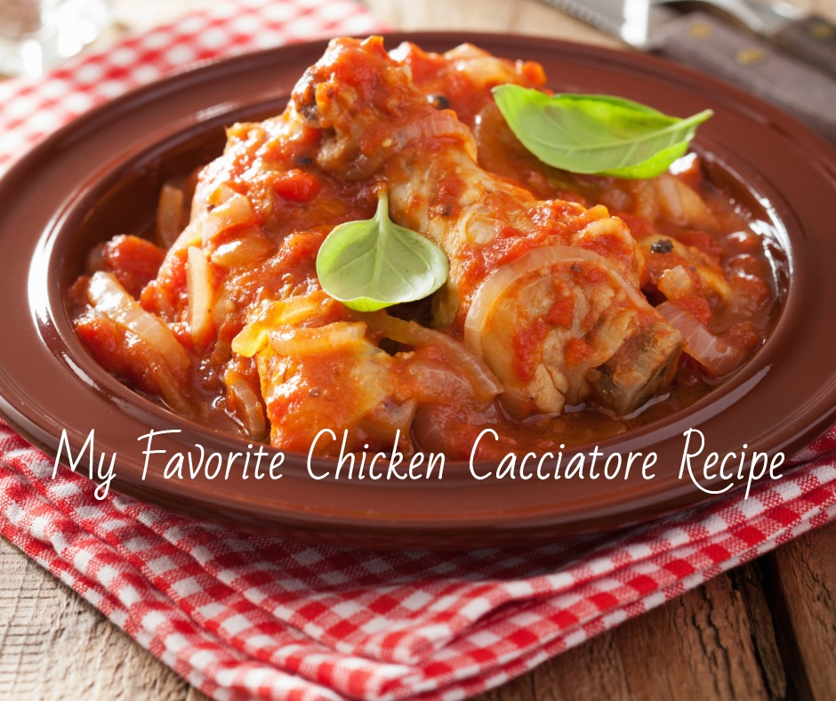 Make this flavorful chicken cacciatore dish any day of the week.