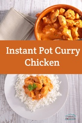 Try this simple recipe for instant pot curry chicken. Great over rice.