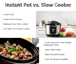 What should you use? An Instant Pot or A Slow Cooker?