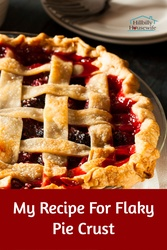 Here's my favorite recipe for flaky pie crust.