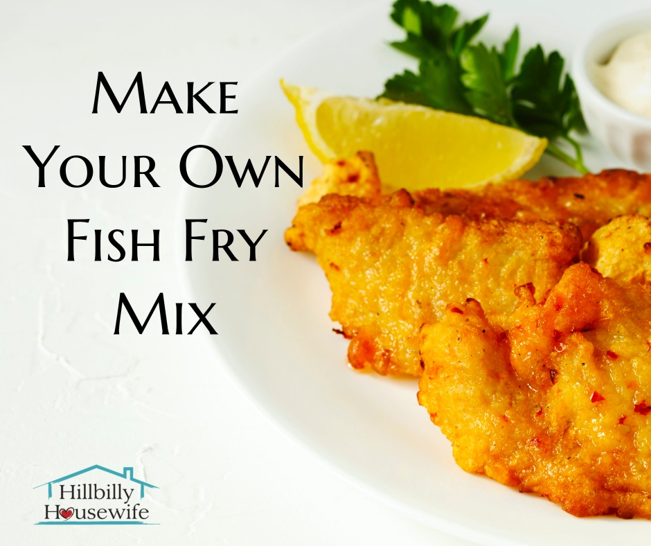 Fried fish cooked to perfection using homemade fish fry mix, served with lemon and tartar sauce.