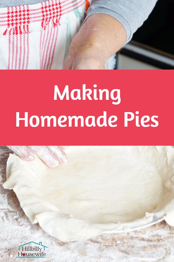 how to make homemade pies from scratch starting with the crust