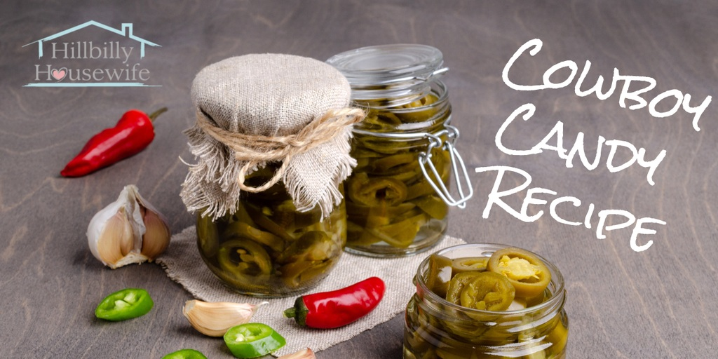 Pretty little jars of cowboy candy or pickled jalapenos